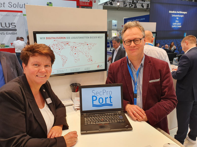 SecProPort presented at transport logistic 2019
