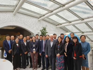 Visit from the Far East: ISL seminar for Chinese delegation